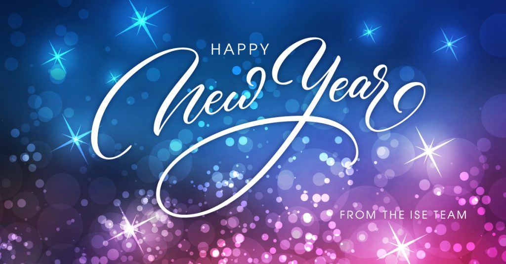 Happy New Year 2021 ISE Team